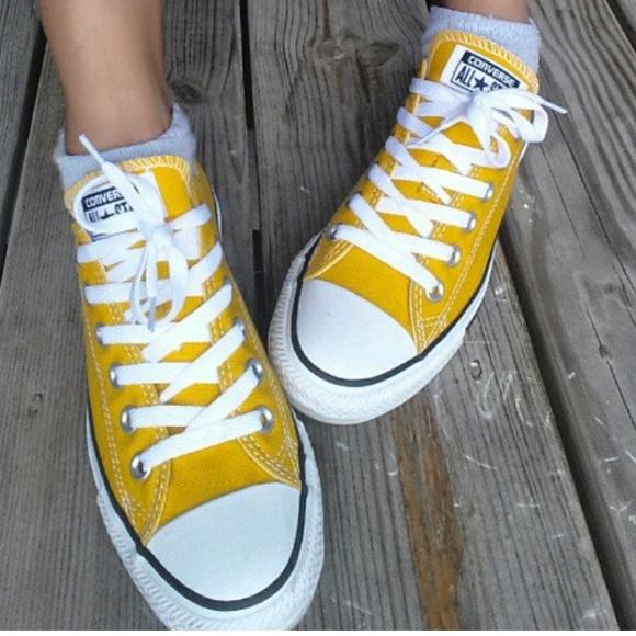 736be5f8ff64a5 Converse Shoes - Converse Chuck Taylor Yellow Lemon Sneakers